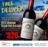 法國波爾多五級酒莊 Grand Puy Ducasse 2013 - take 2 bottles home, FREE delivery