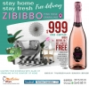 STAY home STAY fresh ZIBIBBO Pink Rose Sparkling ... 20/7 get 1 bottle free